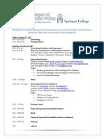 hbcu economics workshop summary   agenda - final