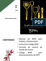 Bpm en Restaurantes