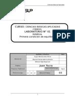Laboratorio1 Estatica Primera_Condicion_de_Equlibrio.doc