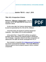 IICL 6 Inspection Criteria