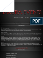 Sakura Events - Event Management Company