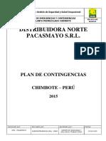 Plan de Contingencias Febrero 2015 Chimbote