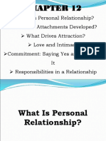 Personal Relationship Part II (1)
