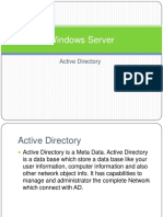 Windows Server 2008 Active Directory