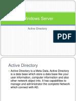 Windows Server 2008 Active Directory