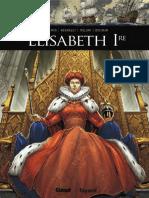 BANDE DESSINEE Ils Ont Fait LHistoire - Elisabeth 1re