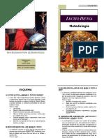 Lectio Divina - Metodologia