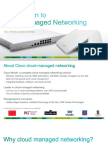 Cisco Meraki Cloud Networking