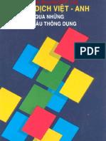 130120503 Luyện Dịch Việt Anh Qua Những Mẫu Cau Thong Dụng Tac Giả Nguyễn Hữu Dự