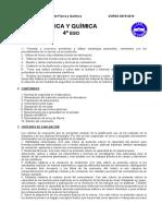 RESUMEN PROGRAM 4º Eso - Métodos de La Ciencia (Proyecto)