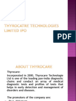 Thyrocatre Technologies Limited Ipo