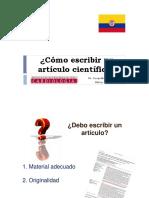 Como Escribir Articulo Cientifico Rcc