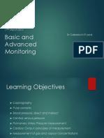 Basic and Advanced Monitoring