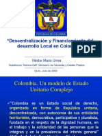 Descentralización y Financiamiento Del Desarrollo Local.sin