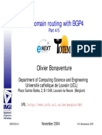 BGP-4_slides Interdomain Traffic Engineering With BGP