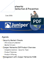 Juniper IDP Overview