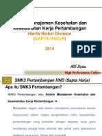 SMK3P HND Sapta Harja Presentation 2014