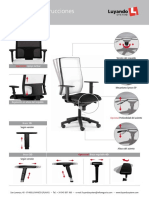 Manual de Instrucciones - Silla Mod. PASSION