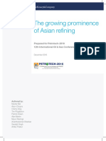 Asian Refining Growning