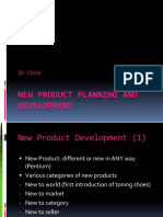 New Product Planning Development