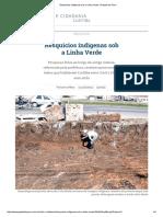 Resquícios Indígenas Sob a Linha Verde _ Gazeta Do Povo