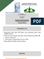 Noca Arianti (03013240) Ppt Referat Penangan Jalan Napas Dr. Ratna Sp.an