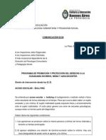 2008 - comunicacion2-08 Promoción y protección de los derechos de niños y adol