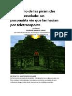 El Misterio de Las Pirámides Mayas Desvelado