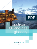Esanda Upstream Oil and Gas Glossary