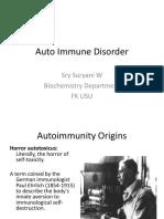 Auto Immune Disorder 2016