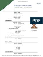 AAI Junior Executive Application Form Complete
