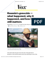 Beacuhamp (2014) Rwanda — What Happened, Why