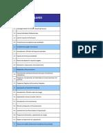 Criterios Revisión Pilares HSEC