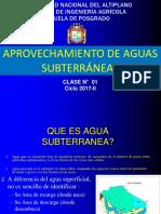 1-Las Aguas Subterráneas