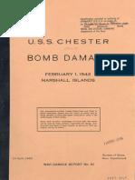 U.S.S. CHESTER (CA-27), BOMB DAMAGE - Marshall Islands, February 1, 1942 Images.pdf