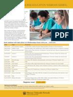 nurse education webinar flyer final