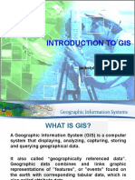 SUG553 - Geographic Information System - Introduction to GIS