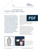 A Short History of Everything Batteries