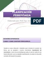 PLANIFICACIÓN FERROVIARIA