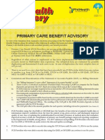 Primary Care Benefit Guidelines2017