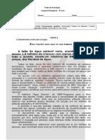 Teste 8 Português Notícia e Publicidade