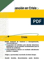 7.- Intervención en Crisis.