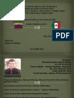 CONVENIOS ENTRE VENEZUELA Y MEXICO - DOBLE TRIBUTACION