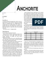 Sarunia - Anchorite
