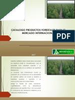 Catalogo Productos Forestales 2017