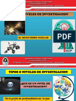 Clase 17-10-17-Tipos y Niveles de Investigacion