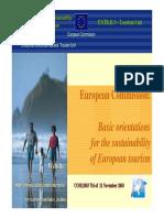 EU Tourism Sustainability