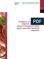 FAO Biological Control Agents Guidelines