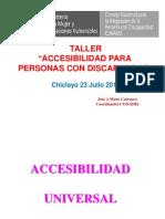 Accesibilidadn Para Personas Con Discapacidad
