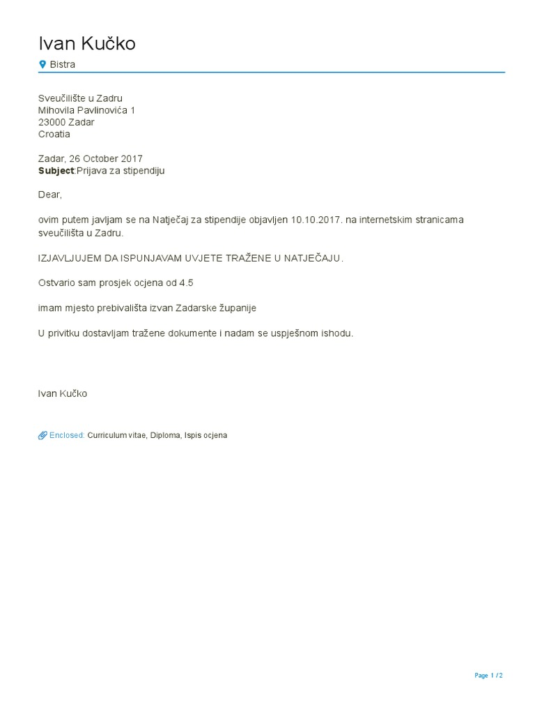 CV Europass Kučko En